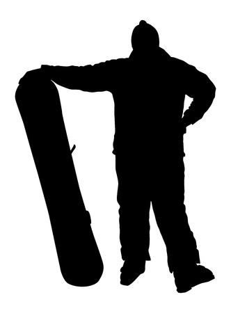 Posing beginner. Vector Vector