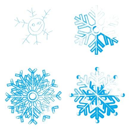 iceflower: Elemento Snowflake per la progettazione