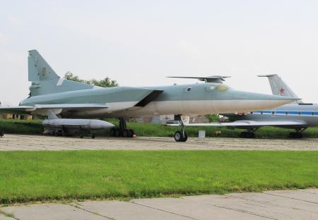 KYIV, UKRAINE- MAY 16:  Last Ukrainian Tu-22M3  at State Aviation Museum  May 16, 2012 in Kyiv, Ukraine