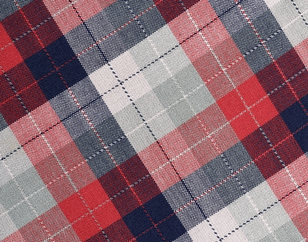 black fabric: Fabric plaid texture. Cloth background