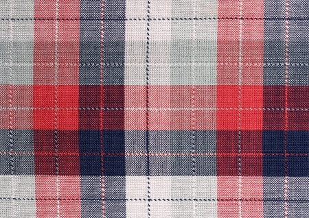 Fabric plaid texture. Cloth background Stock Photo - 16629953