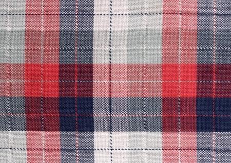 Fabric plaid texture. Cloth background Stock Photo - 16629953