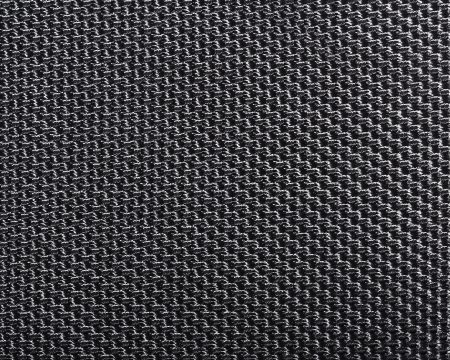polyester: Black polyester texture background  Close up