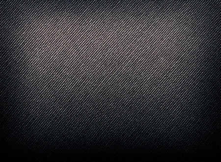 Grey: Black fabric texture. Clothes background