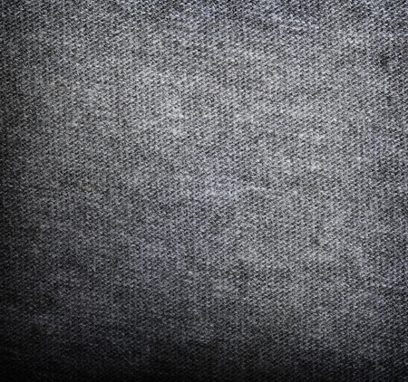 grey background texture: Grey fabric texture. Clothes background Stock Photo