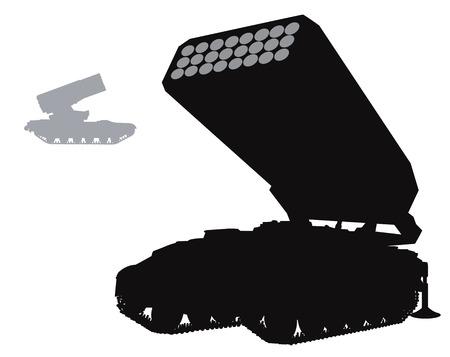 Vector warfare Illustration