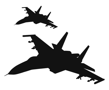 Düsenflugzeug Standard-Bild - 87272152
