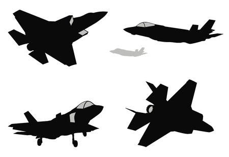 Vektor Kämpfer Set Standard-Bild - 98226514