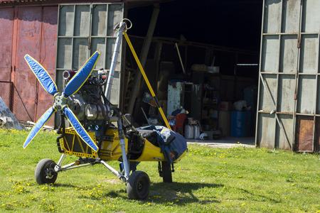 paraglider: Powered Paraglider Editorial