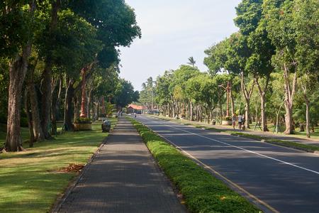 Bali Island Nusa Dua Gardens Parks. Stock Photo