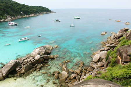 similan islands: Similan Islands Stock Photo