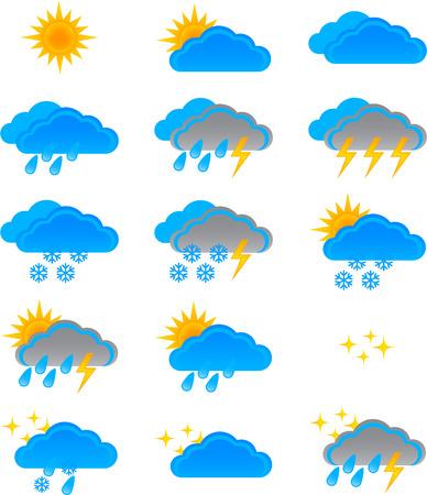 rainstorm: Weather Icons set