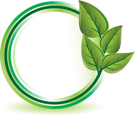 biologic: Green ecology concept