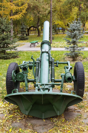 Divisional Russian 160 mm mortar model 1943