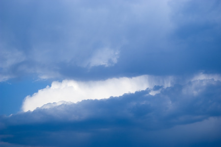 Clouds. Heavenly landscape
