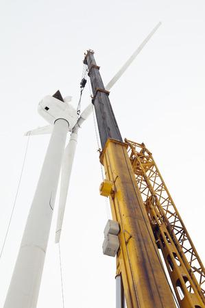 Construction of the wind turbine