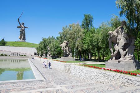Volgograd, Russia - June 7, 2018: Monument Stock fotó - 103651832