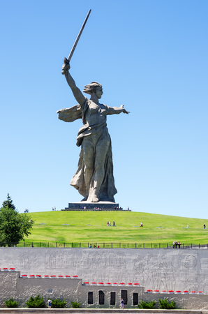Volgograd, Russia - June 7, 2018: Monument Stock fotó - 103651845