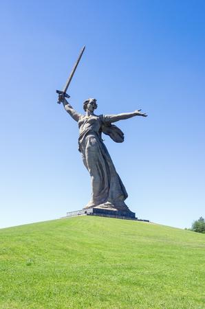 Volgograd, Russia - June 7, 2018: Motherland Calls Monument Stock fotó - 103651857