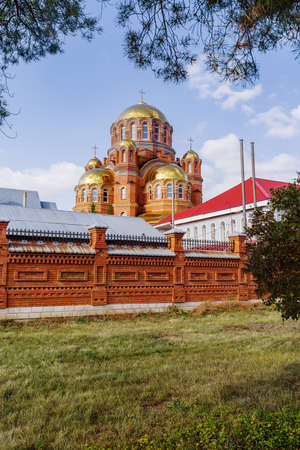 Holy Trinity Simeon Monastery of Mercy, Saraktash, Russia Cathedral of the Life-Giving Trinity