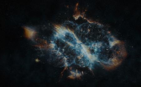 nebulae: Deep space bright gaseous planetary nebulae