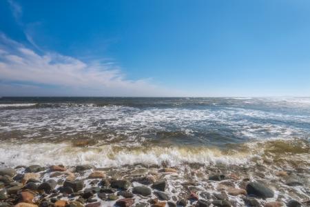 Pebble Coast  Lawrencetown Beach Provincial Park, Nova Scotia