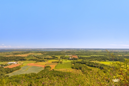 A view from the Blomidon park look off  Annapolis Valley, Nova Scotia, Canada  photo