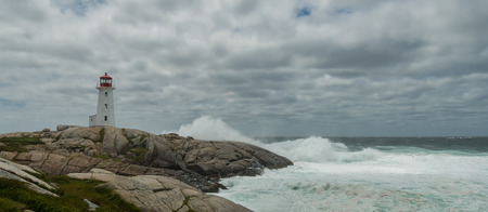 Panorama of Peggys Cove Stock fotó
