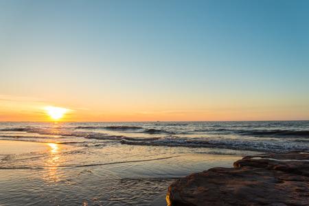 gables: Ocean beach at the sunset  Green Gables Shore, Prince Edward Island , Canada