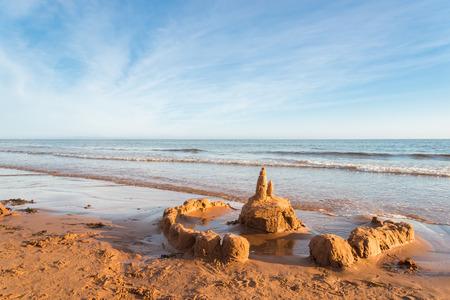 gables: Sand Castle  Green Gables Shore, Prince Edward Island , Canada