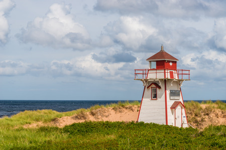Covehead Lighthouse in Stanhope  Prince Edward Island, Canada