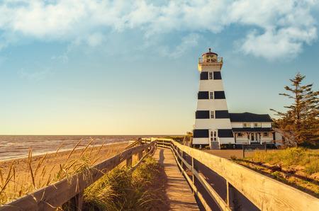 navigational light: West Point Lighthouse (Prince Edward Island, Canada)