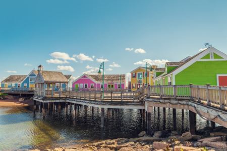 island: Summerside waterfront in Prince Edward Island, Canada Stock Photo