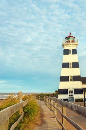 West Point Lighthouse (North Cape Coastal Drive, Prince Edward Island, Canada) photo