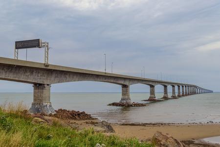 confederation: Confederazione ponte di collegamento Isola del Principe Edoardo con il continente Nuovo Brunswick.