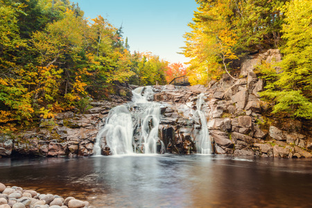 Mary Ann Falls (Highlands National Park, Cape Breton, Nova Scotia, Canada)