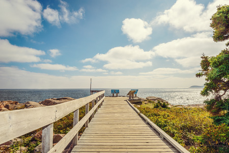 boardwalk trail: Boardwalk (Cabot Trail, Cape Breton, Nova Scotia, Canada)