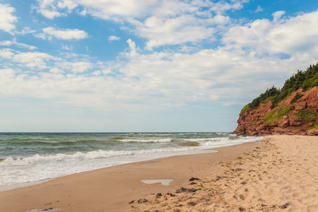 Beach at Basin Head Point East Coastal Drive, Prince Edward Island, Canada Stock fotó