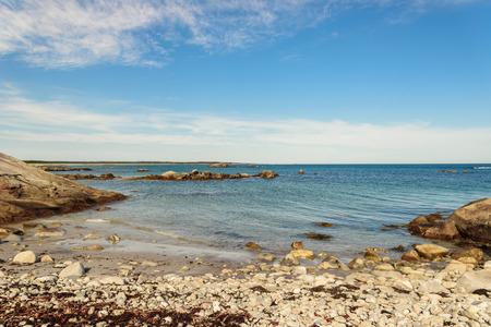 scotia: Keji Seaside coast (South Shore, Nova Scotia, Canada) Stock Photo