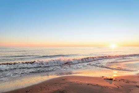 provincial: Ocean coast at the sunrise (Thunder Cove, Prince Edward Island, Canada)