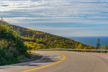 Cabot Trail Highway  (Cape Breton, Nova Scotia, Canada)