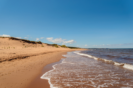 Cavendish Beach in Prince Edward Island National Park (Prince Edward Island, Canada)