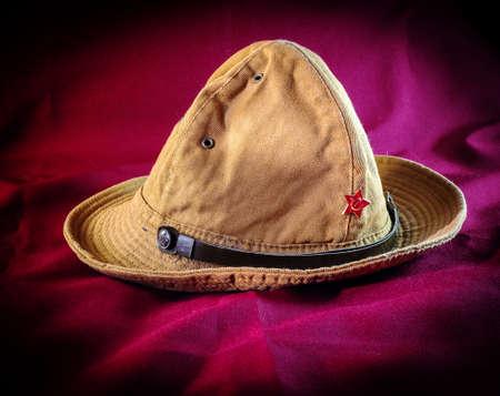 A bucket hat of Soviet Army uniform. Reklamní fotografie