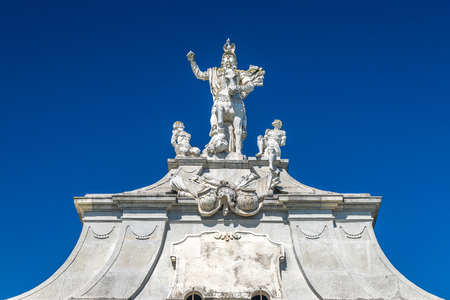 The 3rd Gate of the Citadel Alba-Carolina in Alba Iulia, Romania.