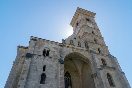 Roman-Catholic Cathedral Saint Michael inside the Citadel Alba-Carolina in Alba Iulia, Romania.