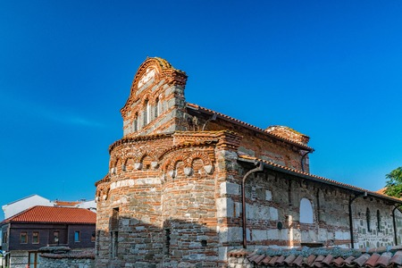 Church of St Stephen in Nessebar ancient city on the Bulgarian Black Sea Coast. Banque d'images