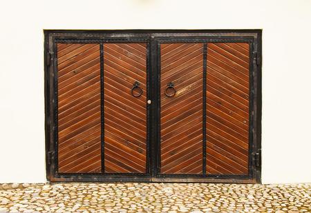 Wooden vintage gate