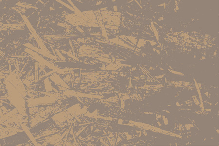 Oriented strand board for construction. OSB texture of sheet material for the background. Vector illustration EPS 10.