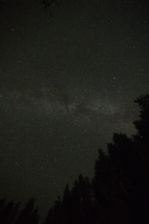 Milky Way Galaxy Mojave Desert, Universe galaxy milky way, nature blue, dark milky way, galaxy view, star lines Reklamní fotografie