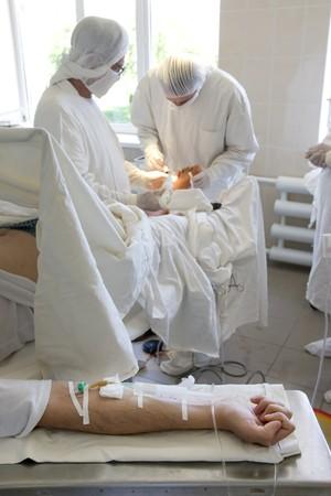 surgeon team at work Stock Photo - 4020003